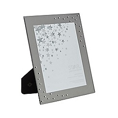 Star by Julien Macdonald - Silver diamante photo frame