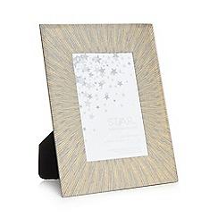 Star by Julien Macdonald - Gold 'Venus' glitter photo frame