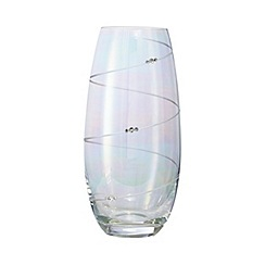 Star by Julien Macdonald - Medium swirl lustre vase
