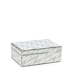 Star by Julien Macdonald - Silver 'Phoenix' chevron box
