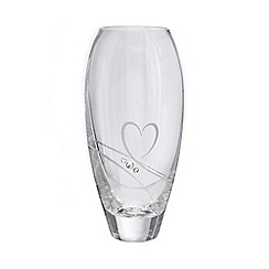 Star by Julien Macdonald - Swarovski swirl heart crystal bud vase