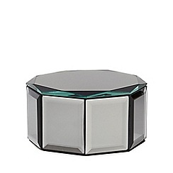 Star by Julien Macdonald - Grey smoked octagon trinket box