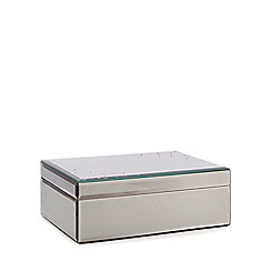 Star by Julien Macdonald - Large silver 'Lucianna' diamante star jewellery box