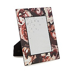Star by Julien Macdonald - Multi-coloured 'Winter Bloom' floral photo frame