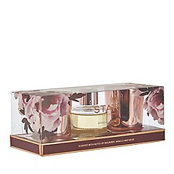 Star by Julien Macdonald - 3 pack small 'Midnight Bloom' candles and reed diffuser