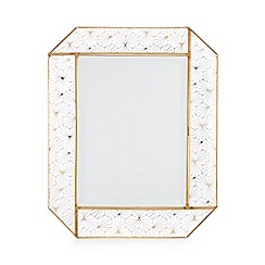 Star by Julien Macdonald - Gold Geometric Frame Mirror