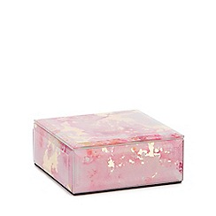 Star by Julien Macdonald - Pink and Gold Marble Effect Small Box