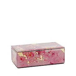 Star by Julien Macdonald - Pink and Gold Marble Effect Medium Box