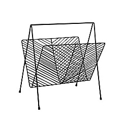 Ben de Lisi Home - Black magazine rack