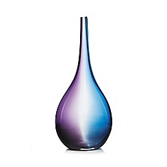 Butterfly Home by Matthew Williamson - Large purple glass vase