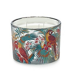Butterfly Home by Matthew Williamson - Multi-coloured tropical pineapple and coconut scented candle