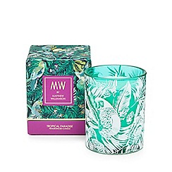 Butterfly Home by Matthew Williamson - Turquoise tropical paradise scented candle