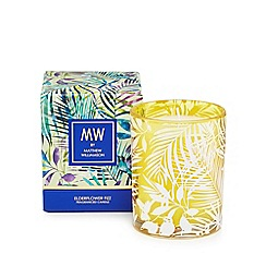 Butterfly Home by Matthew Williamson - Yellow elderflower fizz scented candle