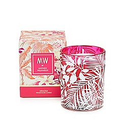 Butterfly Home by Matthew Williamson - Pink mimosa scented candle