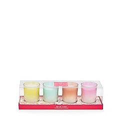 MW by Matthew Williamson - Set of four assorted scented candles