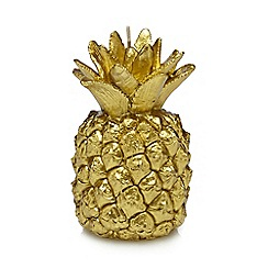 Butterfly Home by Matthew Williamson - Gold pineapple candle