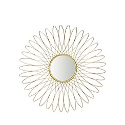 MW by Matthew Williamson - Gold wire woven mirror