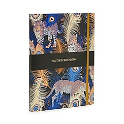 Butterfly Home by Matthew Williamson - Multi-coloured leopard print grande journal