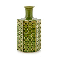 MW by Matthew Williamson - Green textured vase