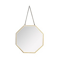 Butterfly Home by Matthew Williamson - Gold octagon mirror