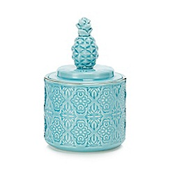 MW by Matthew Williamson - Blue pineapple pot