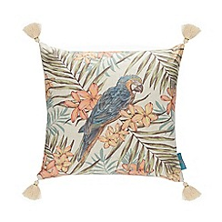 MW by Matthew Williamson - Multicoloured 'Vicky Parrot' Cushion