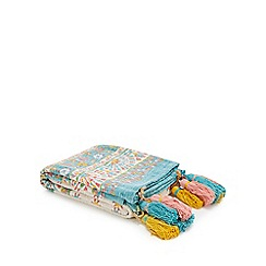 MW by Matthew Williamson - Multicoloured 'Suzani' Patterned Throw