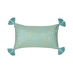 Home Collection - Turquoise 'Anni' cushion