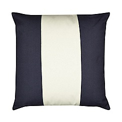 Home Collection - Navy 'Saltwater Bay' striped cushion