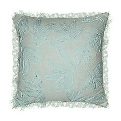 Home Collection - Light blue Maui embellished cushion