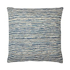 Home Collection - Blue textured 'Aura' cushion
