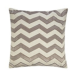 Debenhams - Natural Aurelie cushion