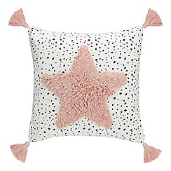 Home Collection - White 'Cosmo' cushion