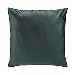 Home Collection - Dark green velvet cushion
