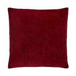 Home Collection - Red textured cushion