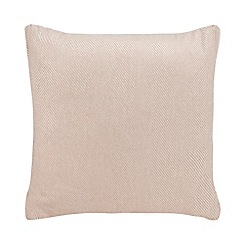 Home Collection - Pink 'Alma' textured stripe cushion