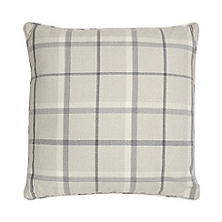 Home Collection - Grey check print cushion