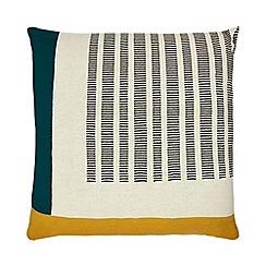 Home Collection - Multicoloured retro print cushion