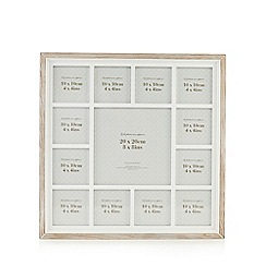 Home Collection - Washed wooden aperture photo frame