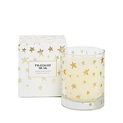 Home Collection - 'Twilight musk' jasmine and bergamot scented candle
