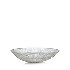 Home Collection - White wire bowl