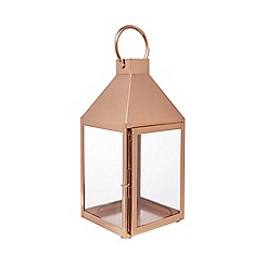 Home Collection - Bronze glass lantern