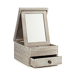 Home Collection - Washed wood vanity box