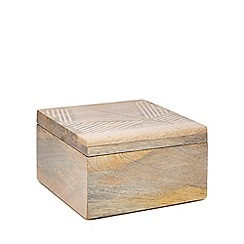 Home Collection - Natural wooden box