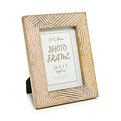 Home Collection - Natural wooden photo frame