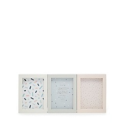 Home Collection - Set of three assorted photo frames