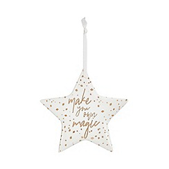 Home Collection - White hanging star