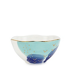 Home Collection - White ceramic trinket bowl