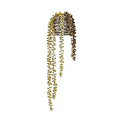 Home Collection - Ceramic pot of artificial string of pearls