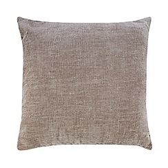 Home Collection - Brown chenille cushion